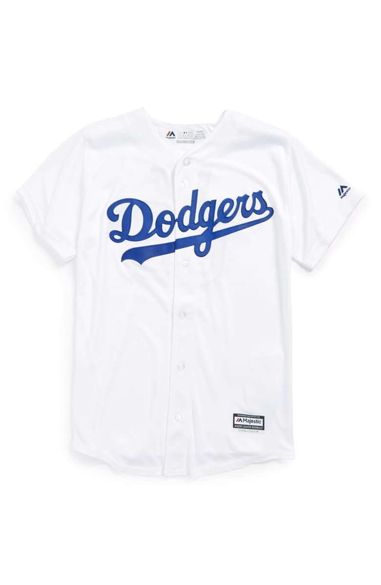 Free Shipping And Returns On Majestic Mlb Los Angeles Dodgers Yasiel Puig Cool Base Replica Mlb Jersey Big Boys At No Dodgers Los Angeles Dodgers Jersey