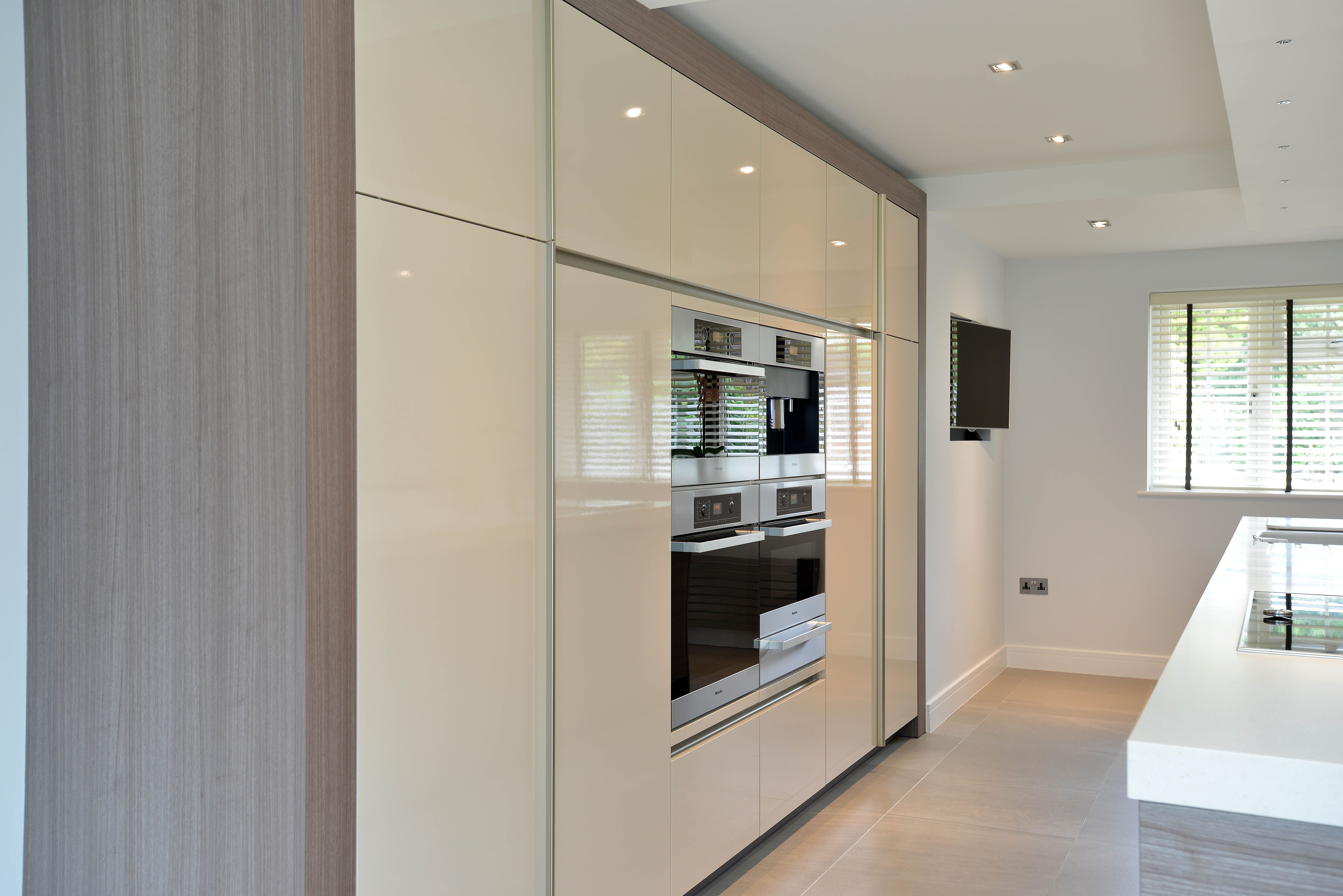 stunning bank of units incorporating neff appliances cuisine stunning bank of units incorporating neff appliances