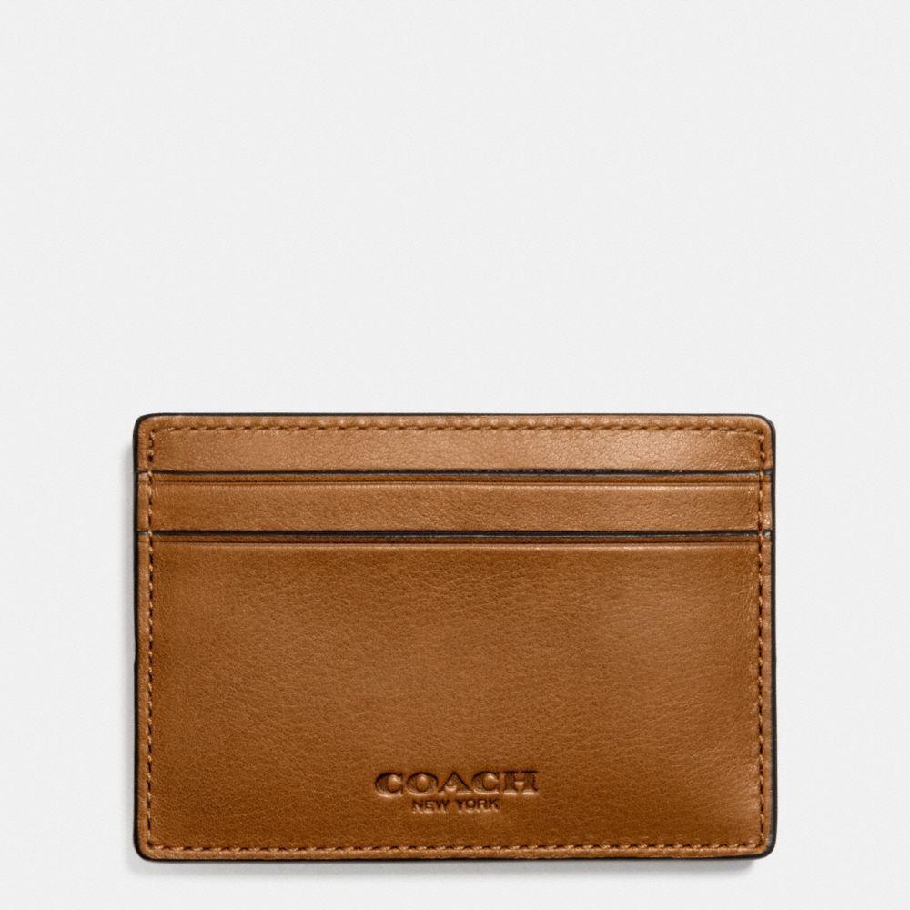 646cfbec097f6 COACH money clip card case in sport calf leather.  coach