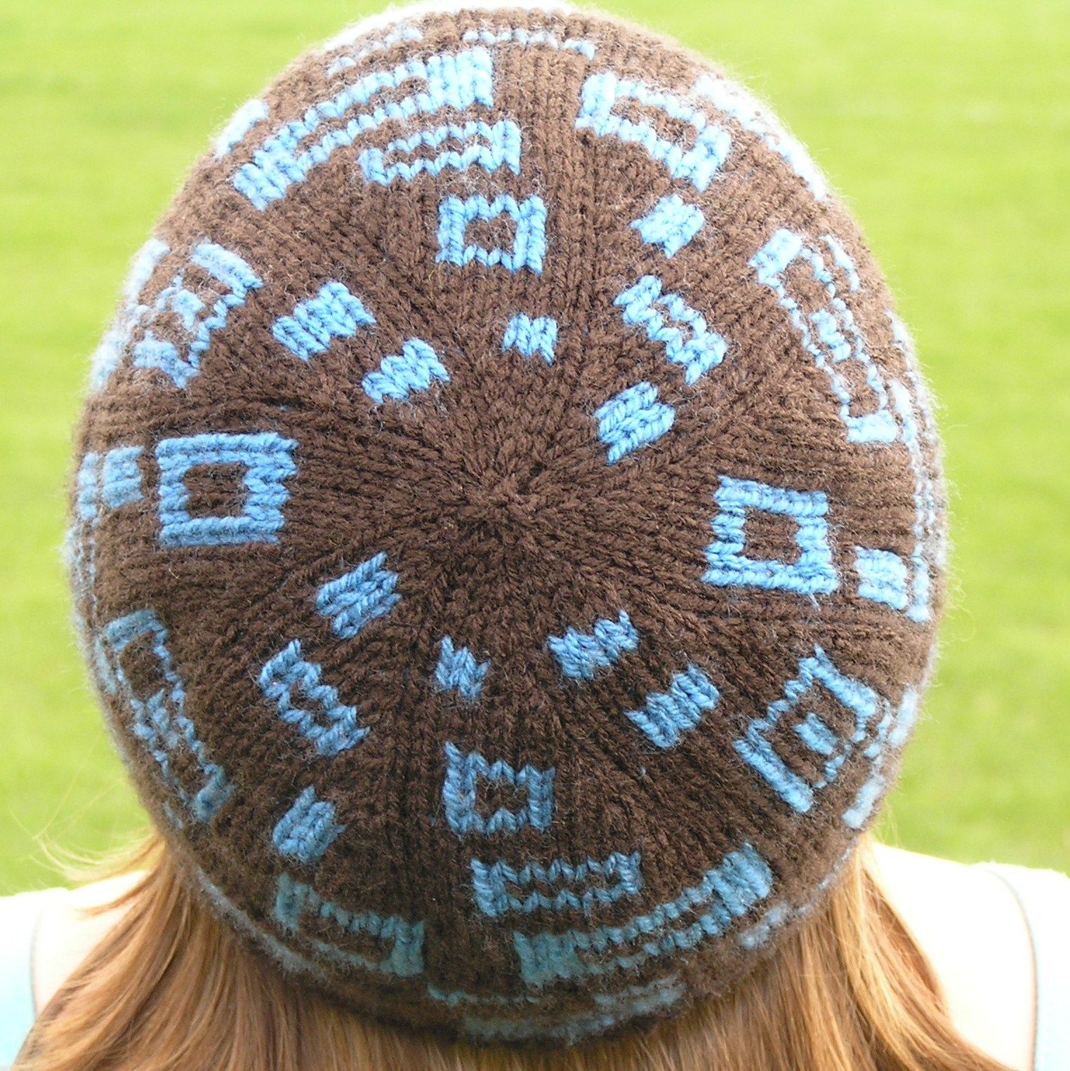 Rectangly Hat   Double knitting, Knit hats and Knitting patterns