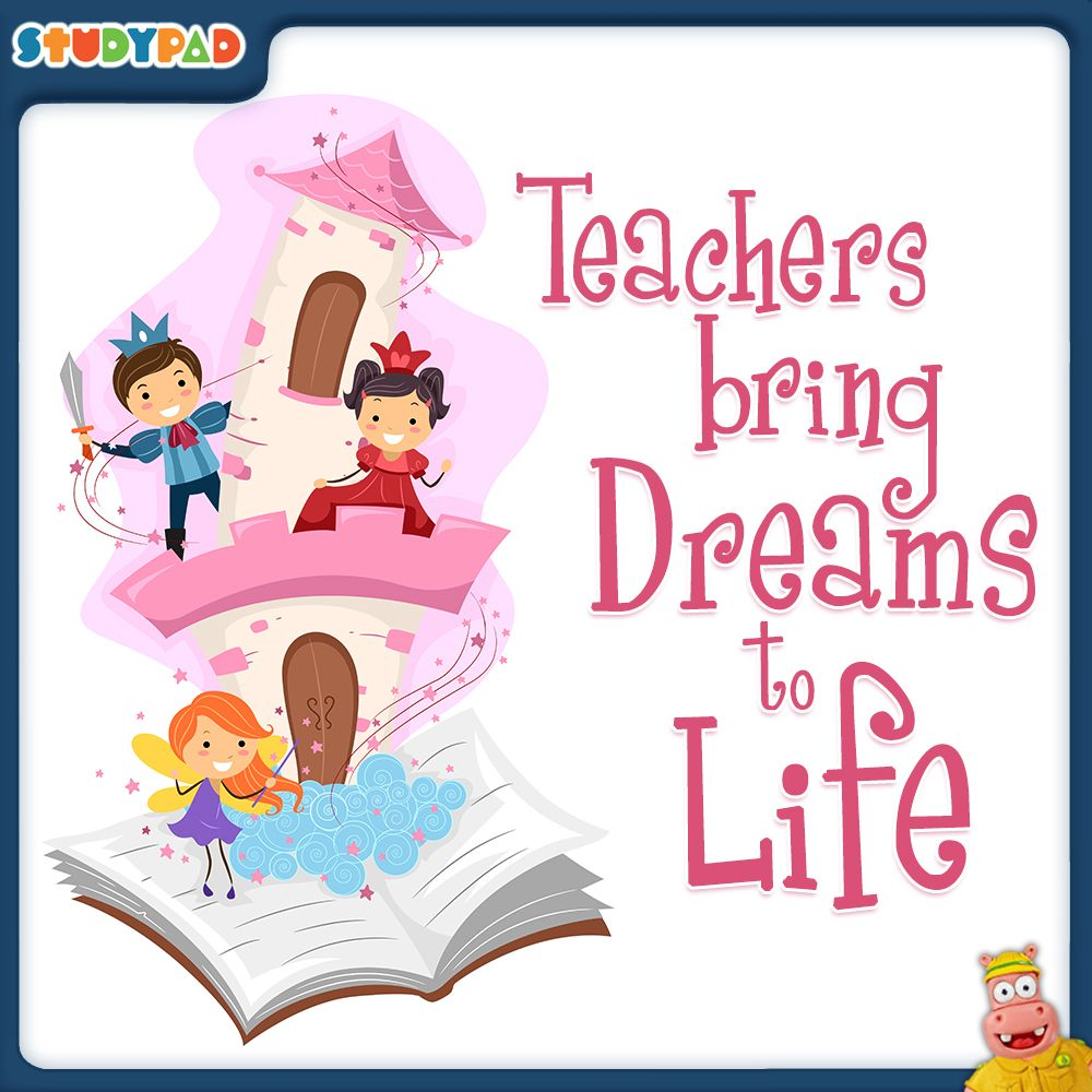 Teachers bring Dreams to Life! #respect