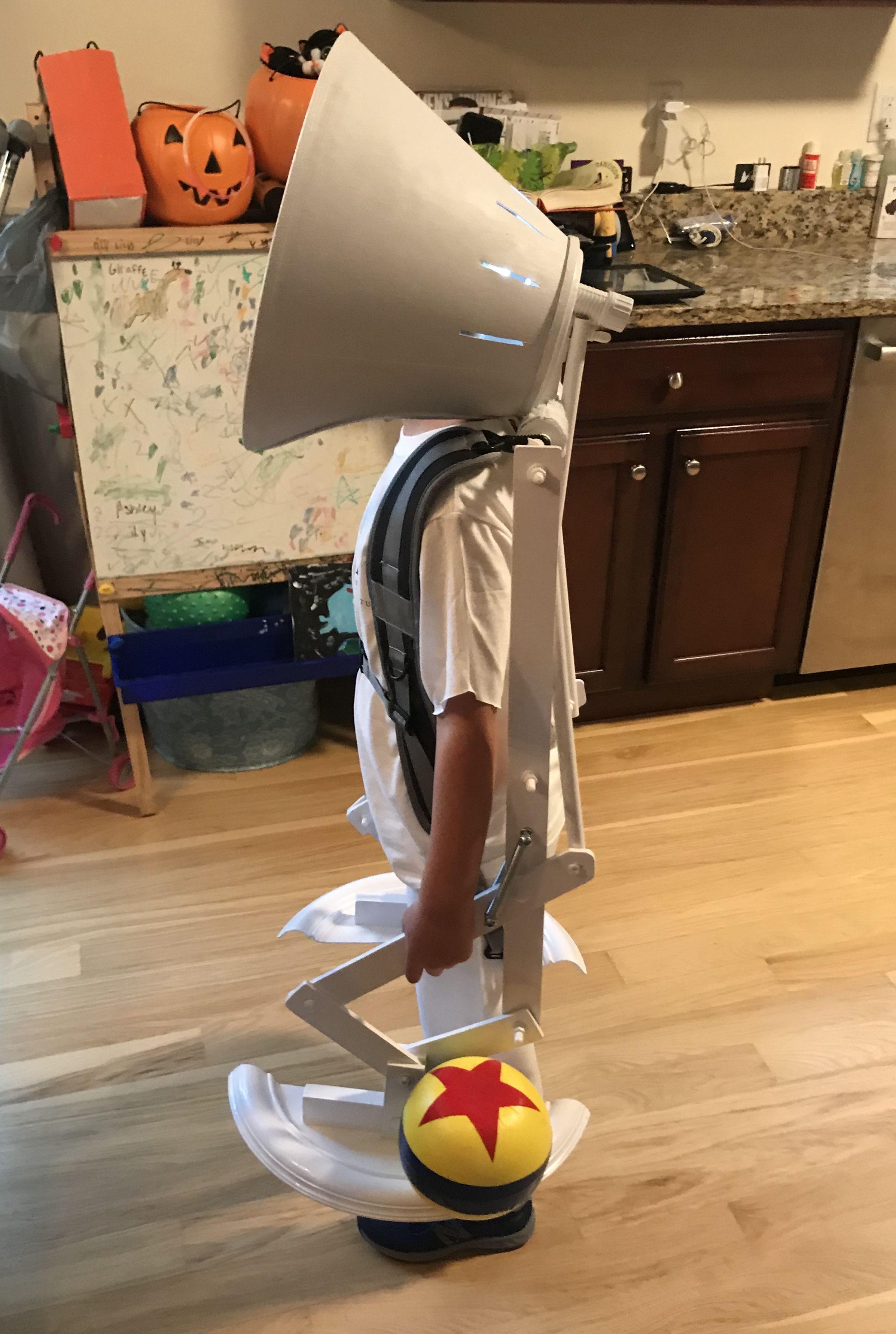 Pixar Luxo Jr Costume Pixar Lamp Pixar Costume Cool Halloween Costumes