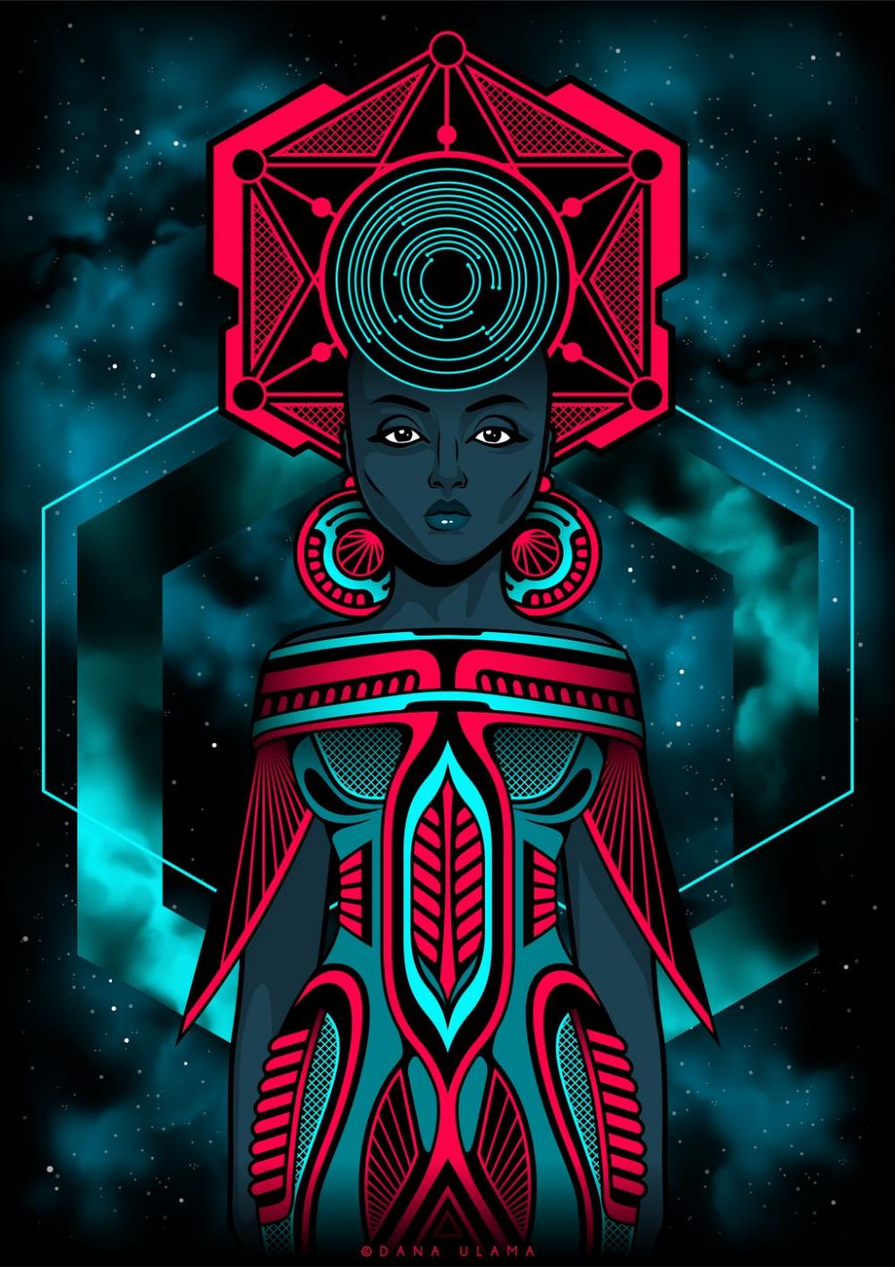 Drew by Dana Ulama on DeviantArt   Psychadelic art, Psychedelic ...