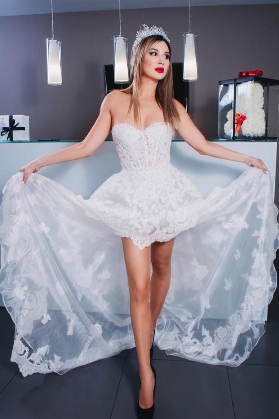 2021 Lace High Low Prom Dresses Appliques Sweetheart Us 159 00 Ldpczd4zax Lovingdresses Vip High Low Prom Dresses Evening Dresses Prom Prom Dresses [ 1350 x 900 Pixel ]