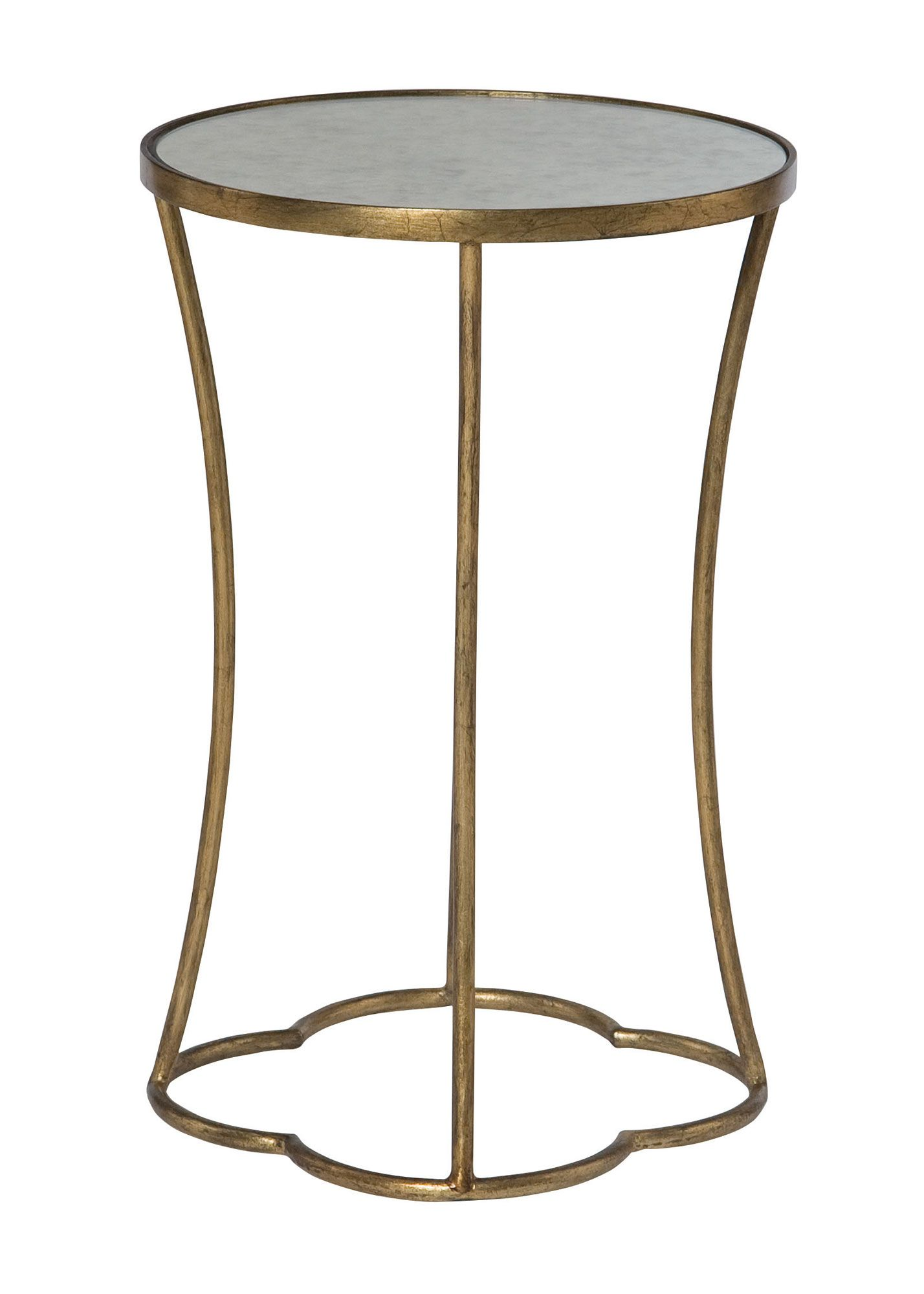 Interiors   Accents Kylie Round Accent Table With Antique Mirrored Top By  Bernhardt At Furniture Barn U0026 Manor House