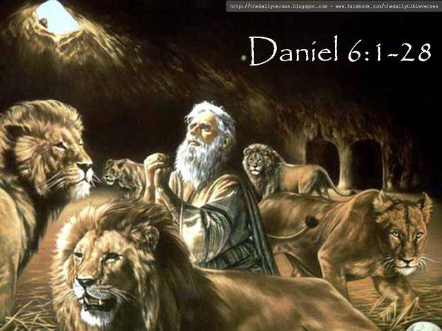 Daily Bible Verses: Daniel 6:1-28