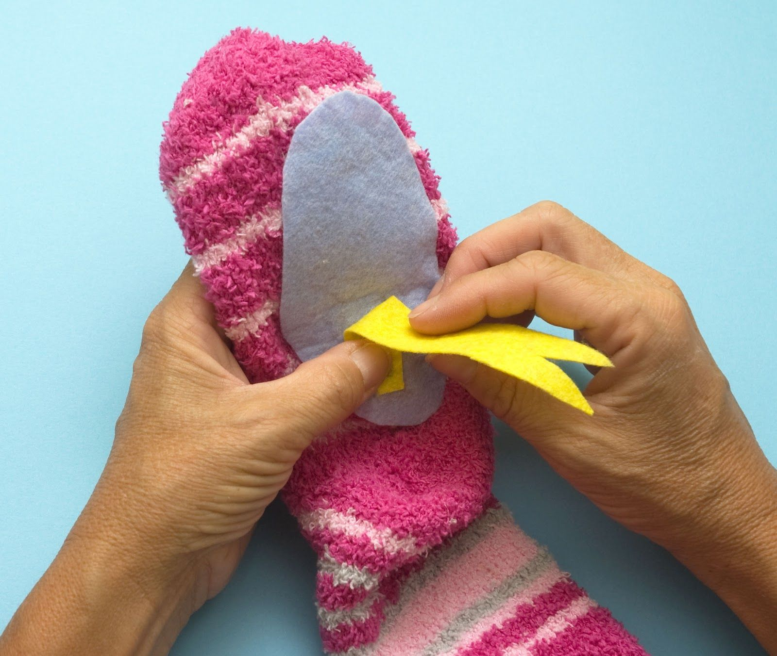El taller de pepa marioneta calceta manualidades - Como hacer marionetas de mano ...