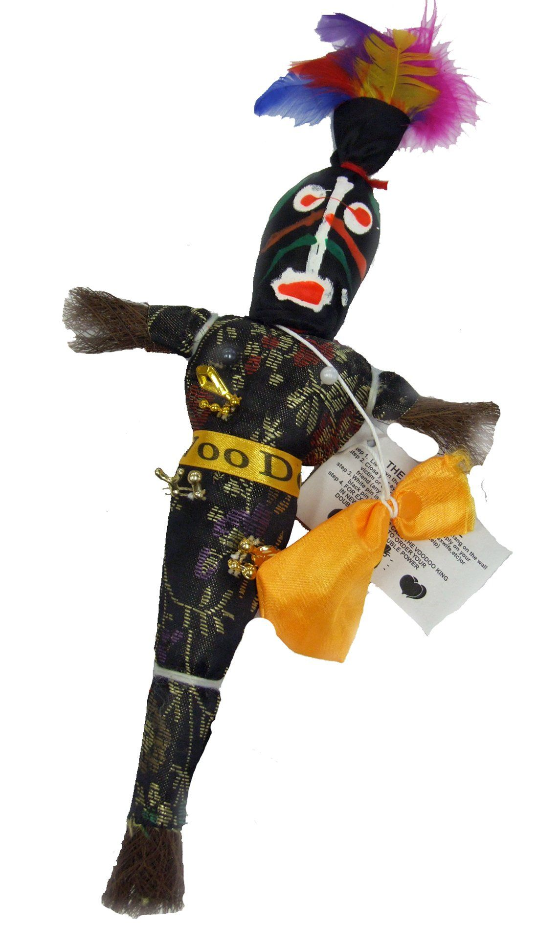 Voodoo Doll K-4 Good Luck Power Money Health Prosper Revenge
