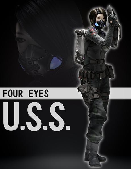 Four Eyes Resident Evil