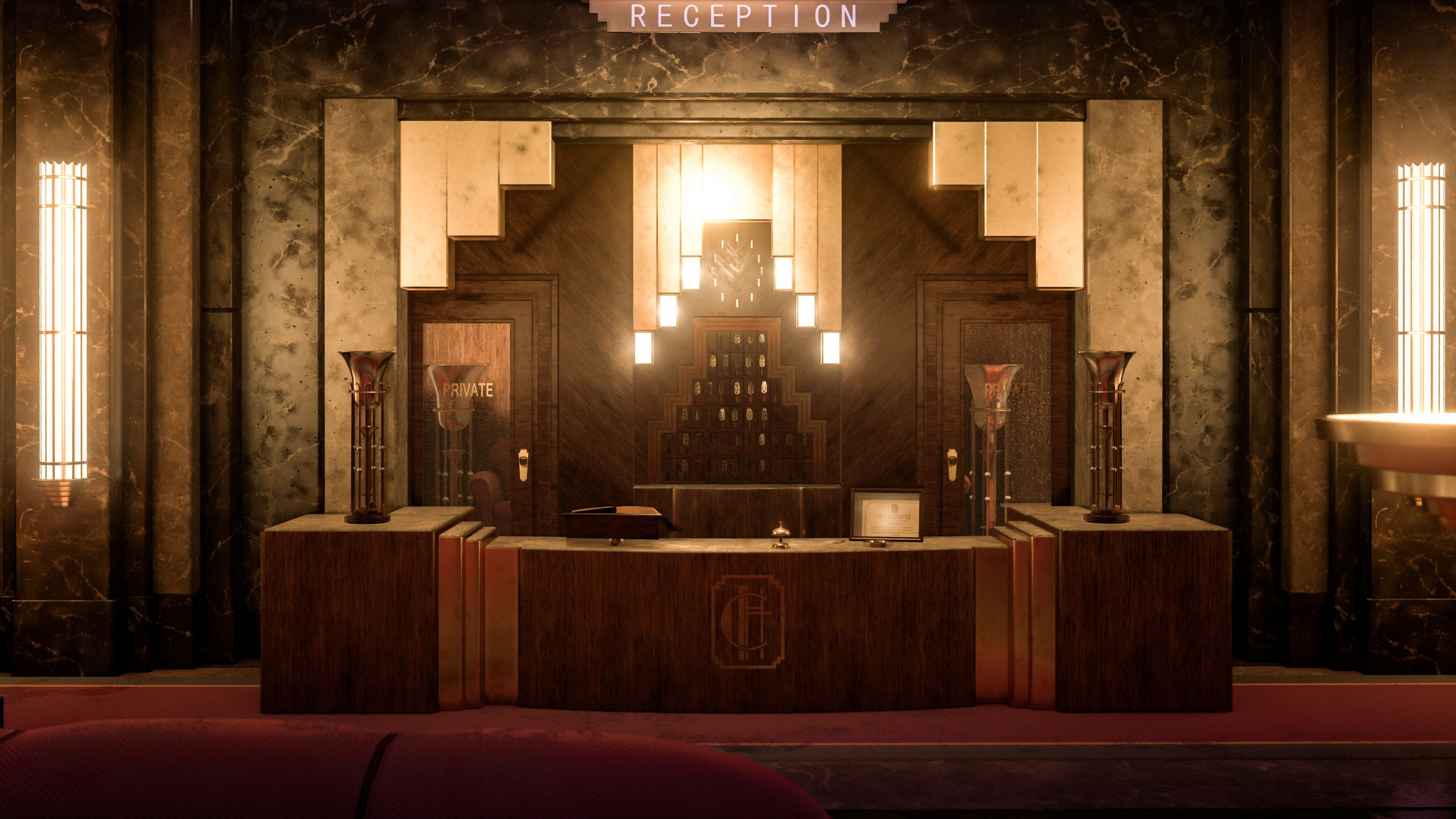 Ue4 Hotel Cortez From American Horror Story American Horror
