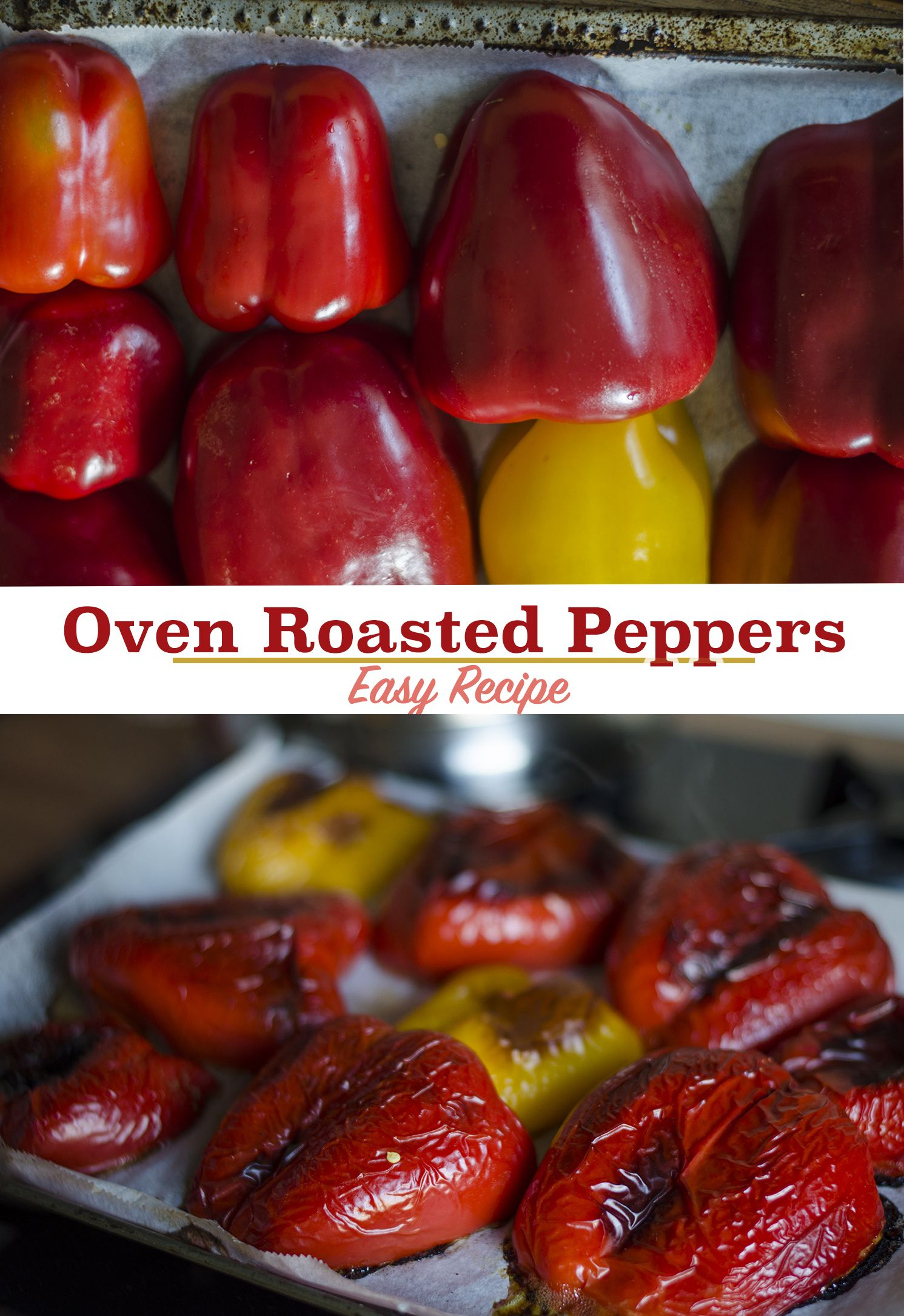 Oven Roasted Bell Peppers Recipe Stuffed Peppers Oven Roasted Peppers Oven Roast