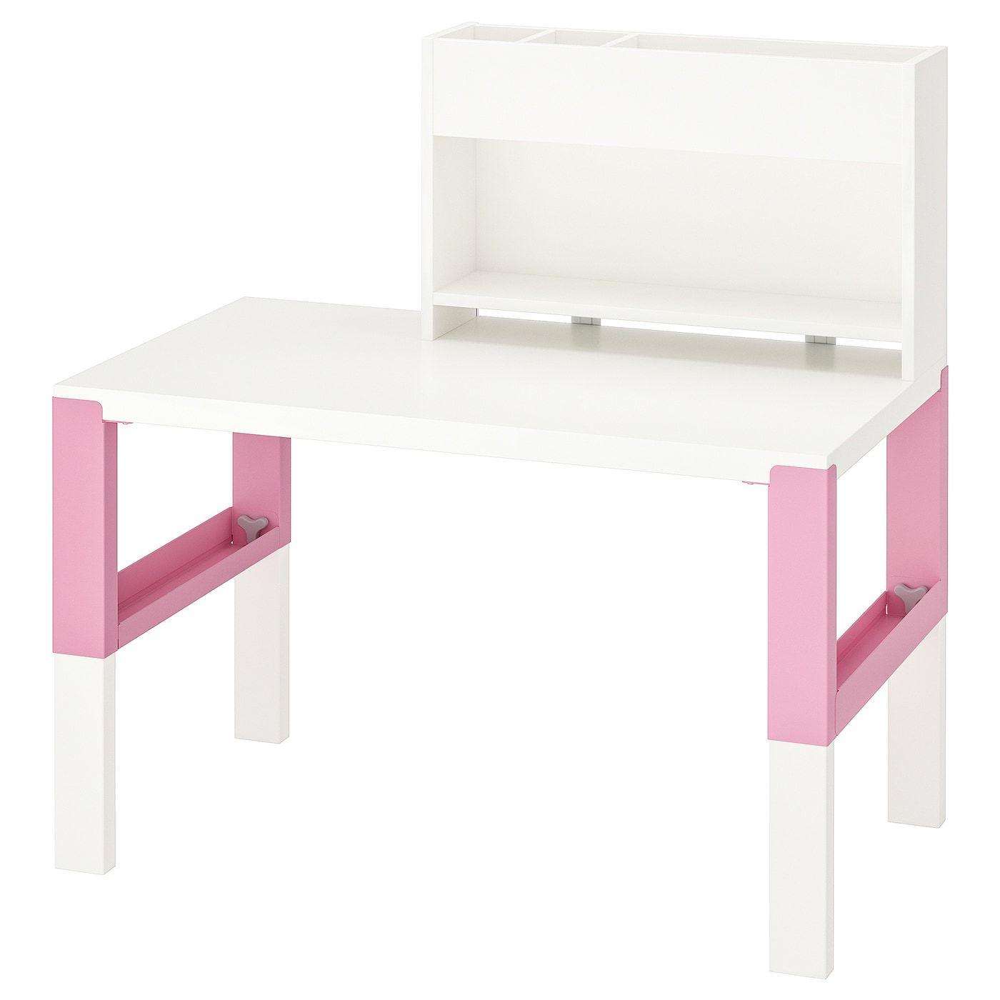 Schreibtisch Kinder Weiß Höhenverstellbar