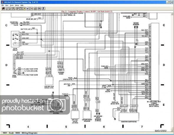 2007 saab 9 3 wiring diagram
