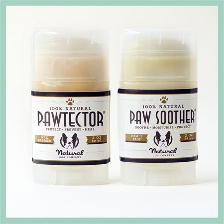 Canine paw protection