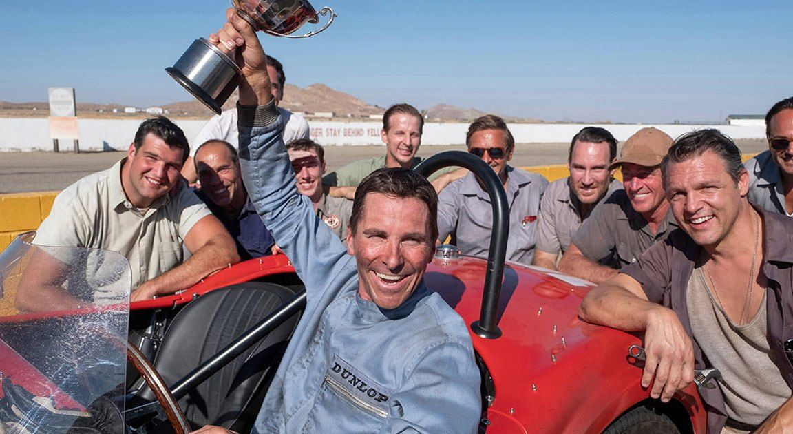 The Gt40 Christian Bale Drove In Ford V Ferrari Is Being