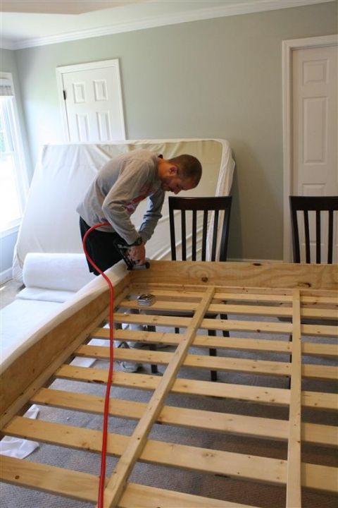 Building Your Own Bed Frame Diy Platform Bed Diy Bed