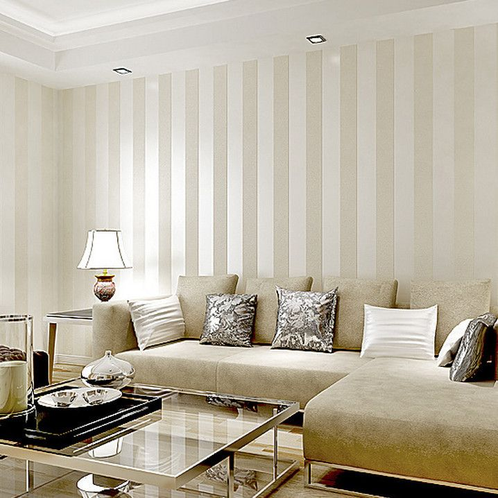 Stripes Living Room Wallpaper Design Ideas Room Wallpaper Designs Best Living Room Wallpaper Striped Wallpaper Living Room