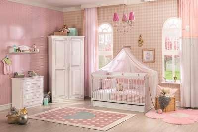 """Babybett Weiß """"Dinky Castle"""" 70x140 in 2020 Baby"""