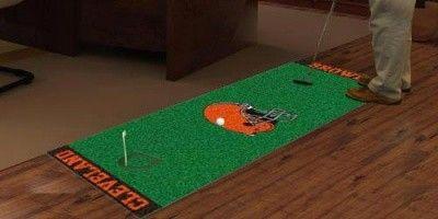 Cleveland Browns Football Field Runner Area Rug Carpet Nfl
