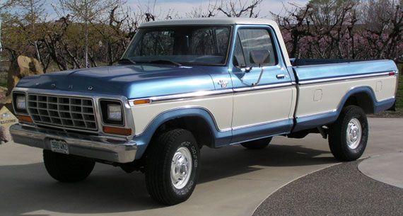 1979 ford f150 pickup ranger xlt 4x4 | f- series | pinterest | 4x4