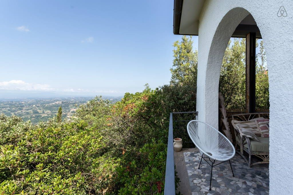 Check out this awesome listing on Airbnb: Romantic treetop hideaway near Rome - Villas for Rent