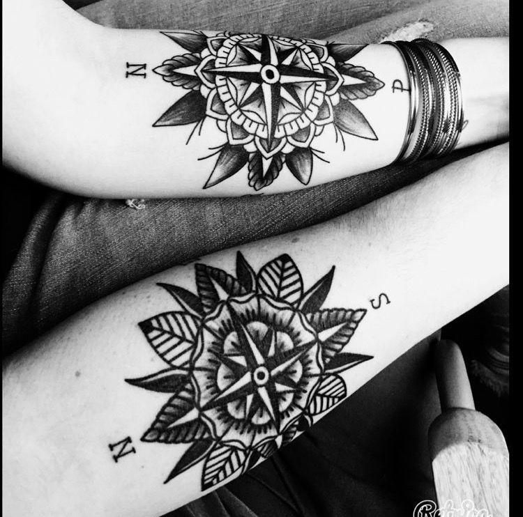 Pin By Andrew Hentzien On Tatouage Mandala Rose Des Vents Pinterest