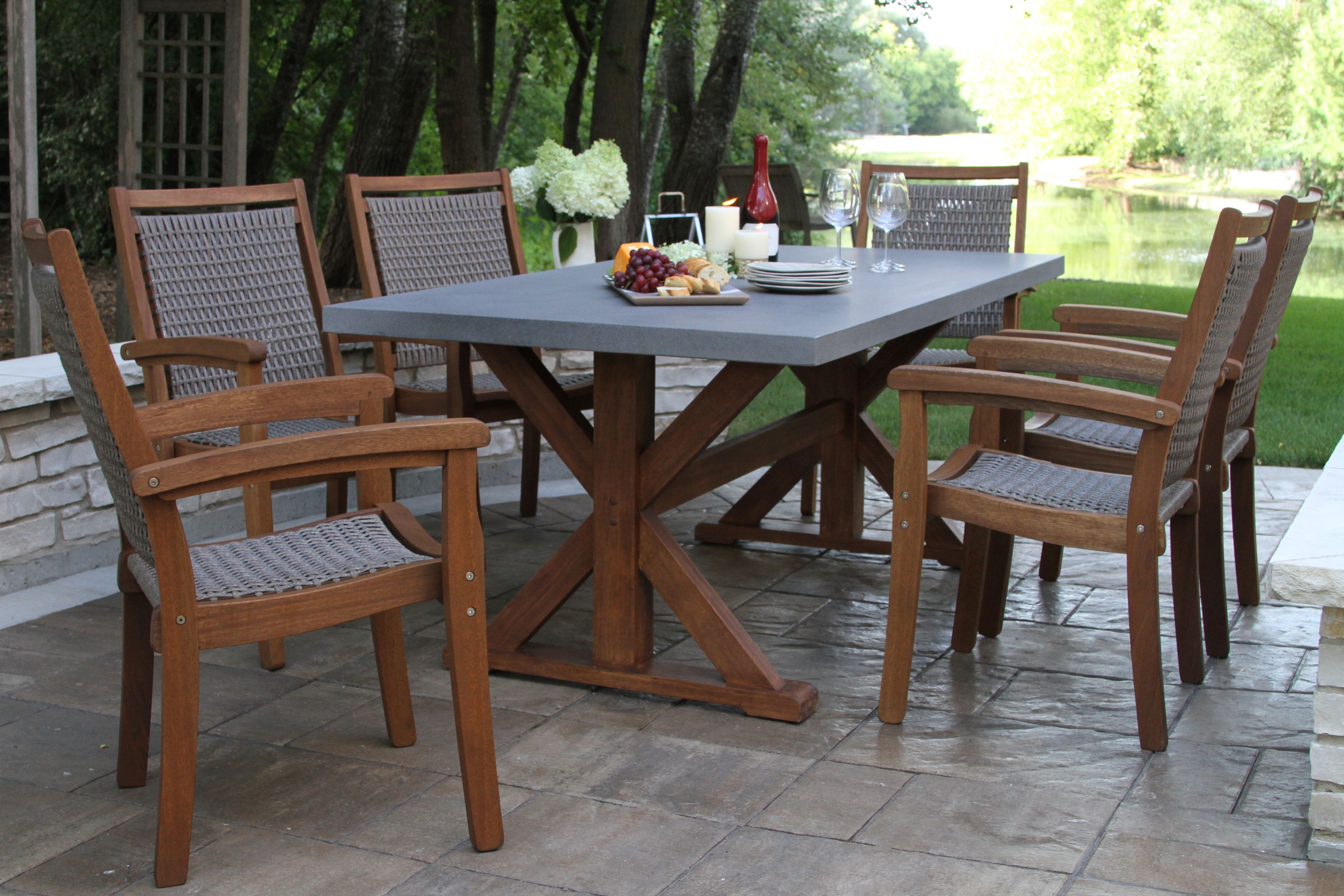 Pin On Outdoor Interiors Brazilian Eucalyptus Furniture Collections
