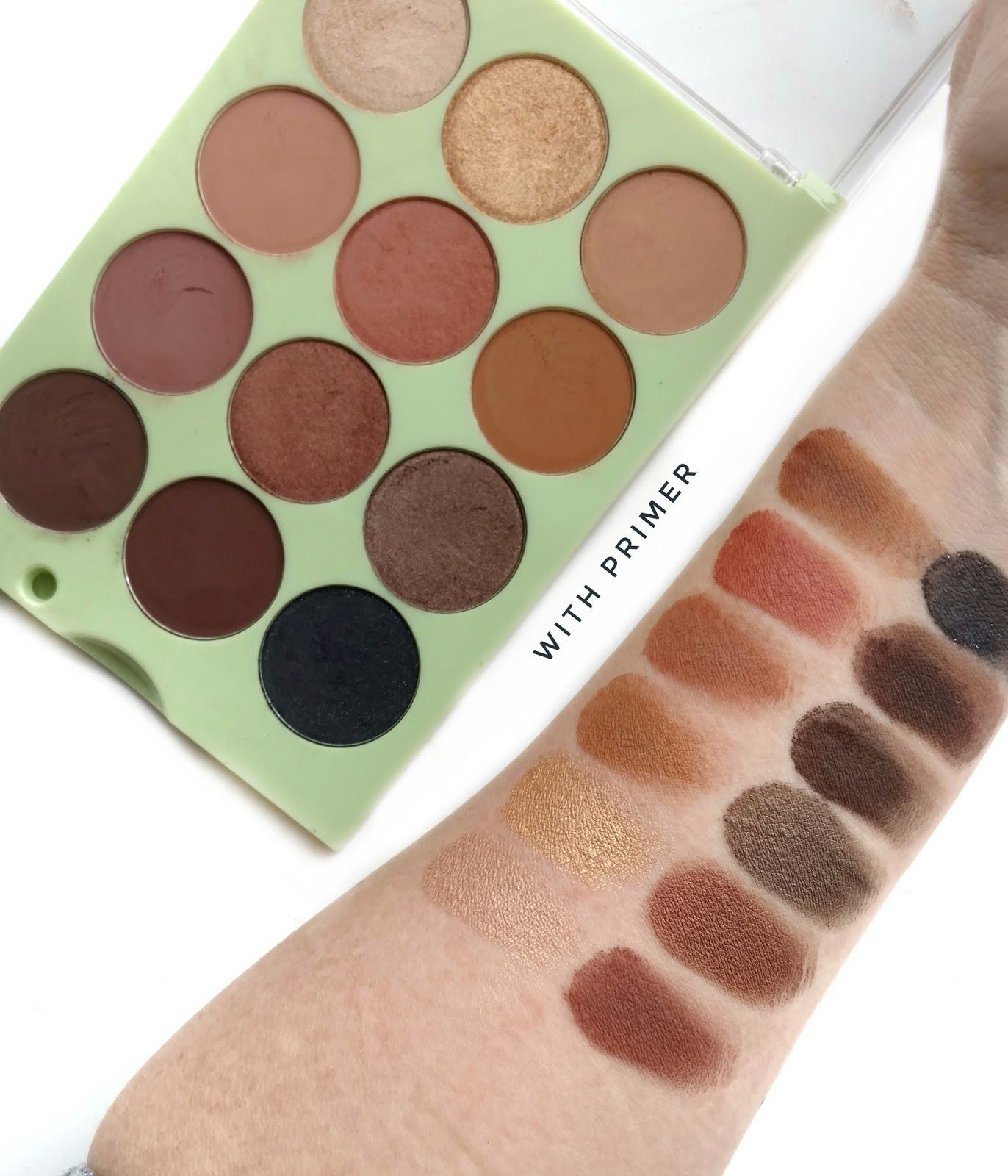 Pixi + ItsJudyTime Eyeshadow Palette Review & Swatches