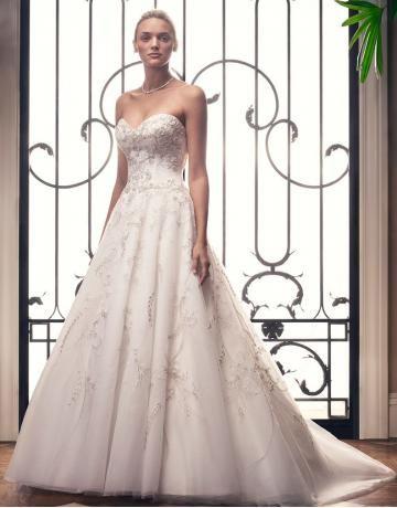 casablanca alinie preiswerte schönste brautkleider style 2212  brautkleid braut und brautmode