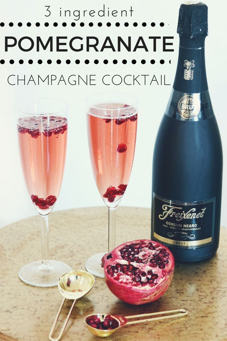 Photo of Pomegranate Champagne Cocktail – Chanel is moving forward