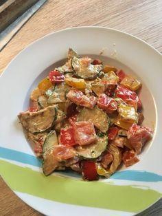 Schnelle Low-Carb Gemüsepfanne #atkinsmeals