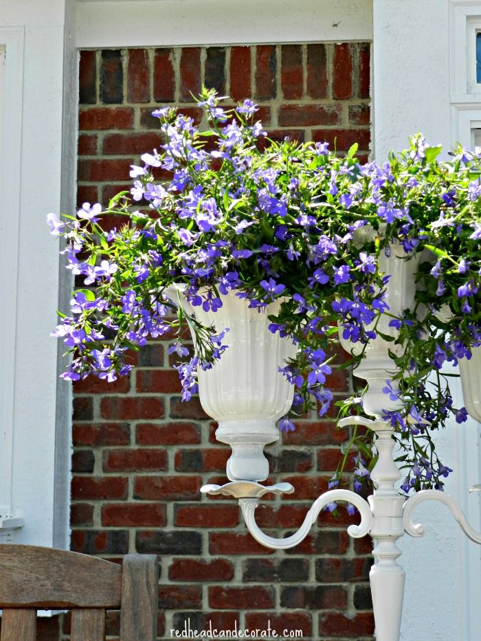 Diy Candelabra Flower Planter Diy Candelabra Flower Planters Ceiling Fan Shades
