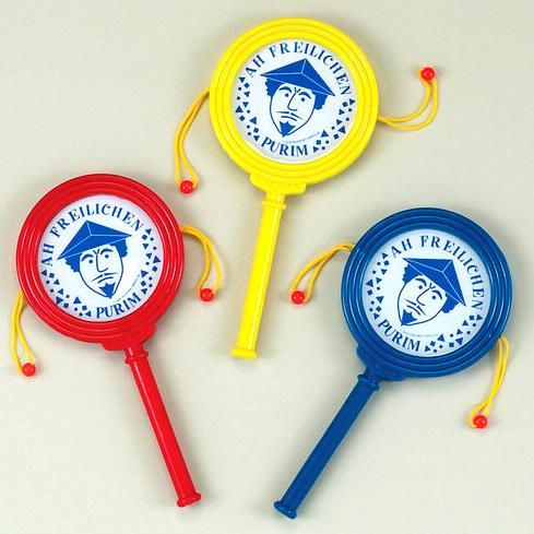Hand Clapping Purim Graggers - 1 Piece $2.99