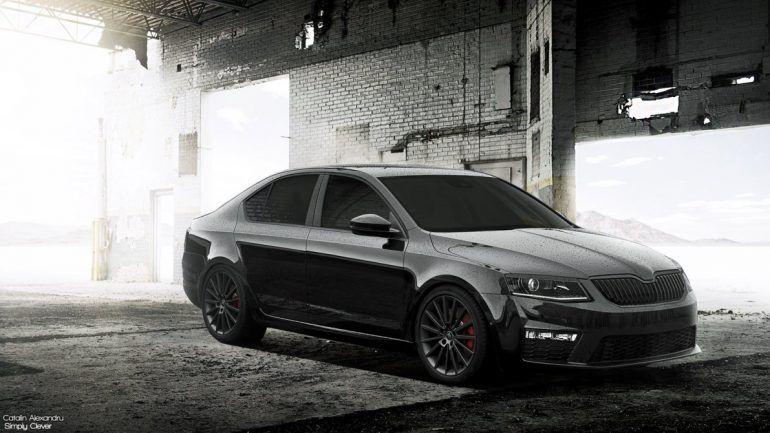 Black Skoda Octavia Rs Hd Wallpapers Skoda Auto Pinterest Cars