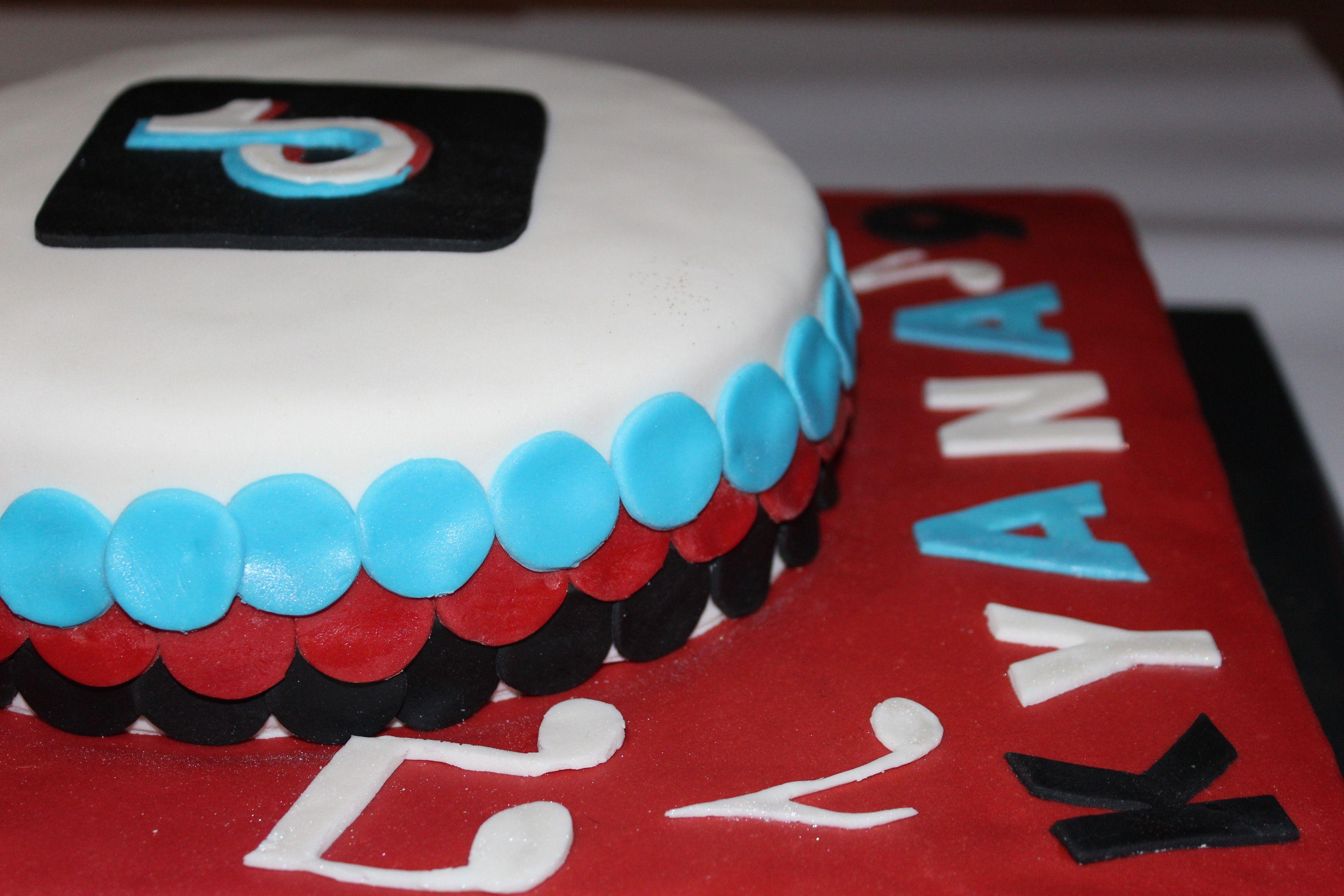Tiktok Cake 1 Cake Kids Cake Cupcake Cookies