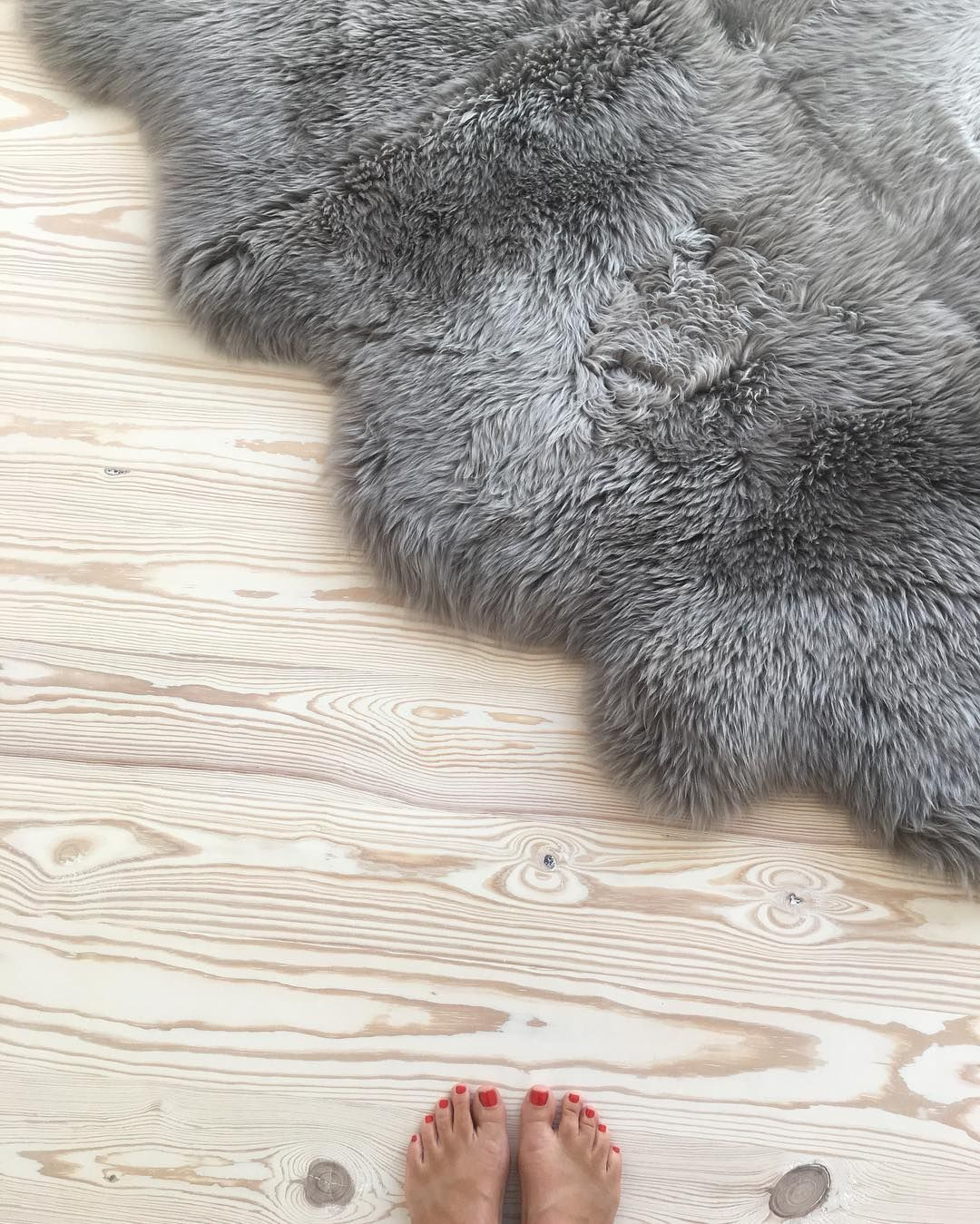Just chill… Pine floor treated with #WOCA Wood Lye White and ...