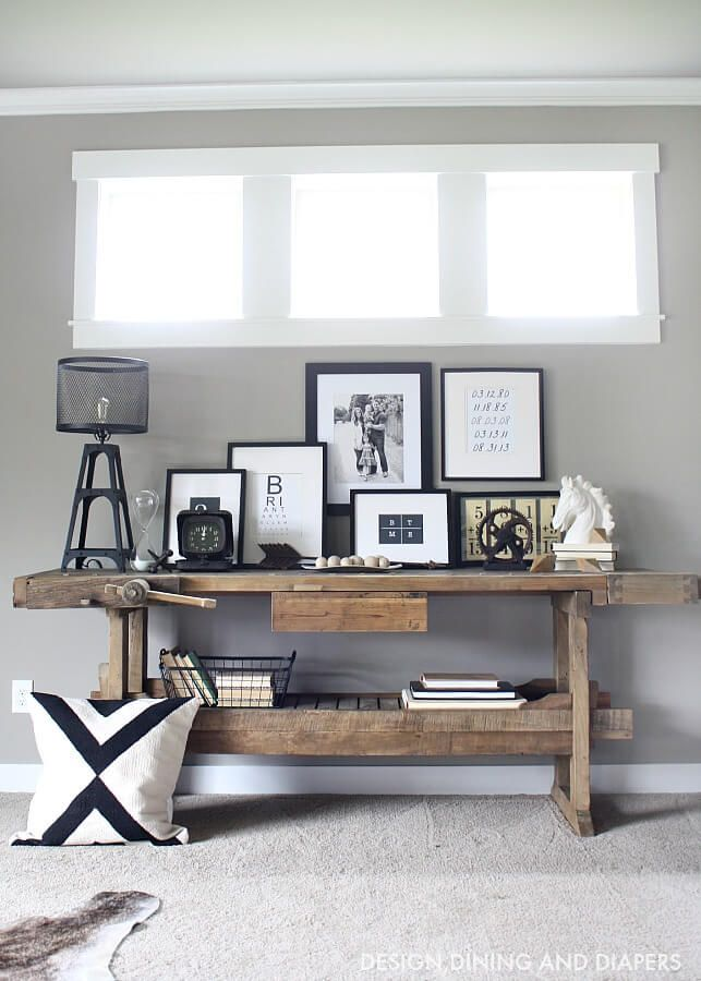 Industrial Home Tour by Design, Dining and Diapers | 12 Chic ...
