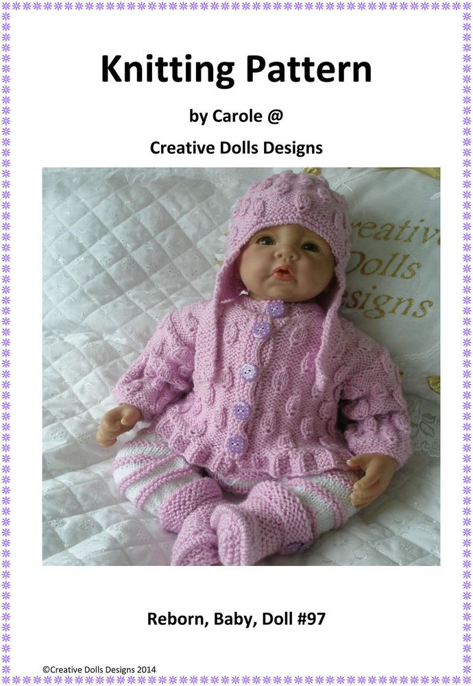 Knitting Pattern Suitable For 17-22\