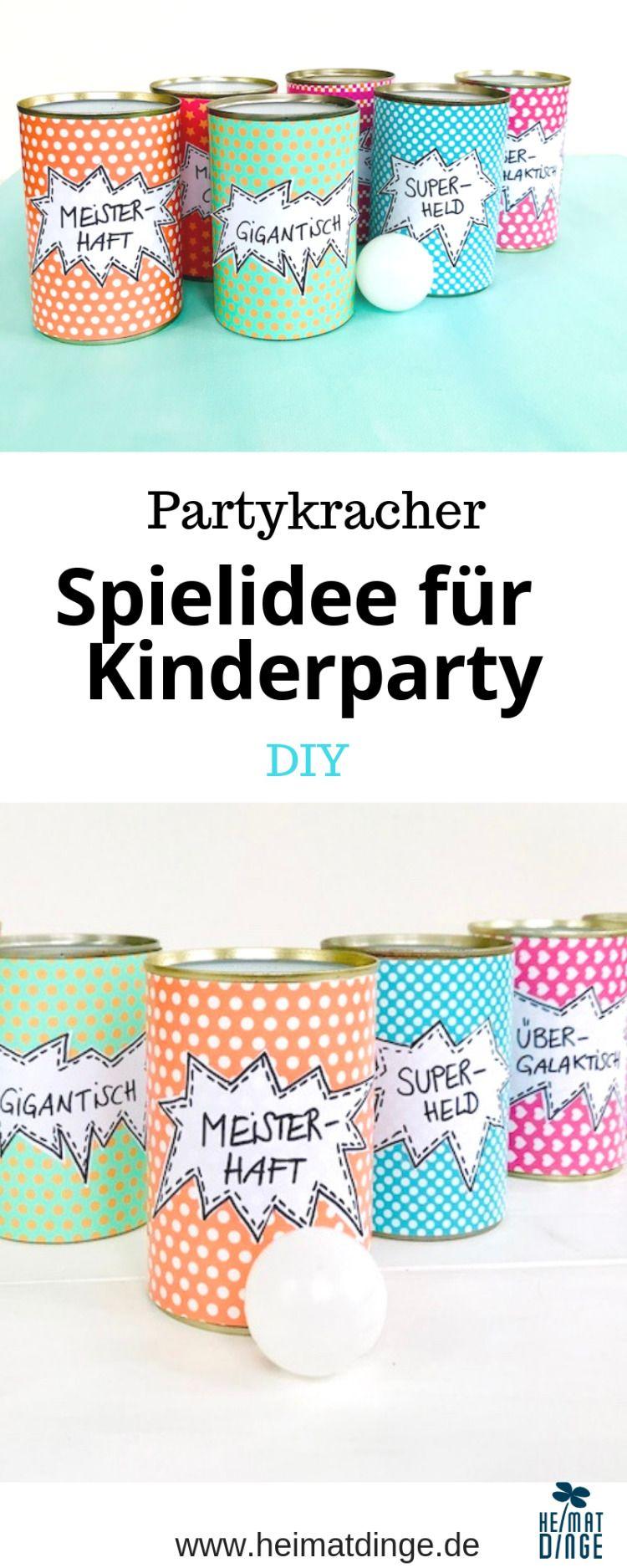 Dosenwerfen für Kinder mit lustigen Sprüchen - -   19 diy basteln liebe ideas