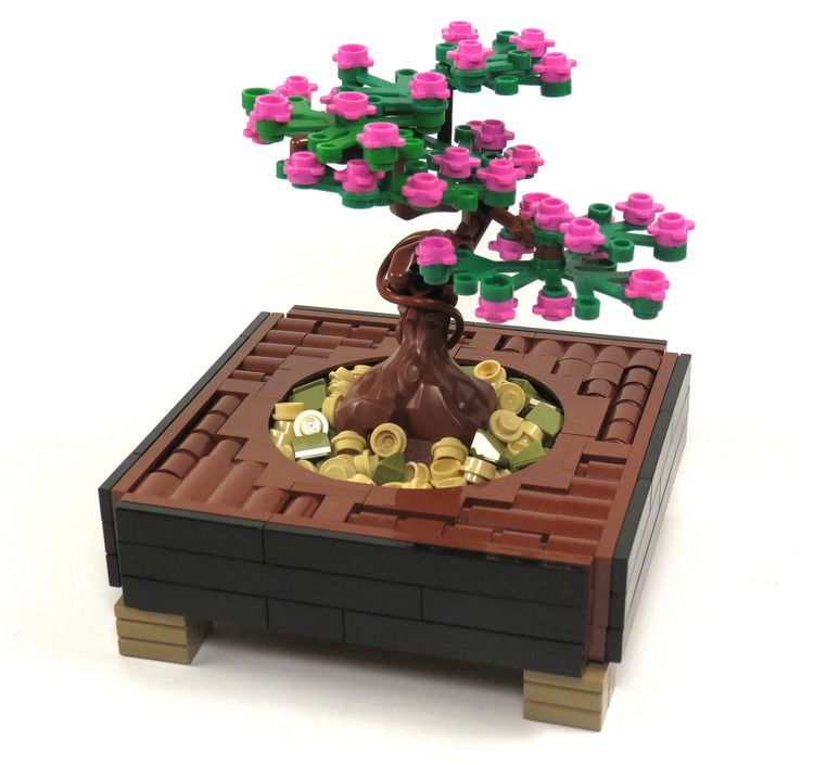 Bonsai Bricknerd Your Place For All Things Lego And The Lego Fan Community Lego Tree Lego Design Lego Creations