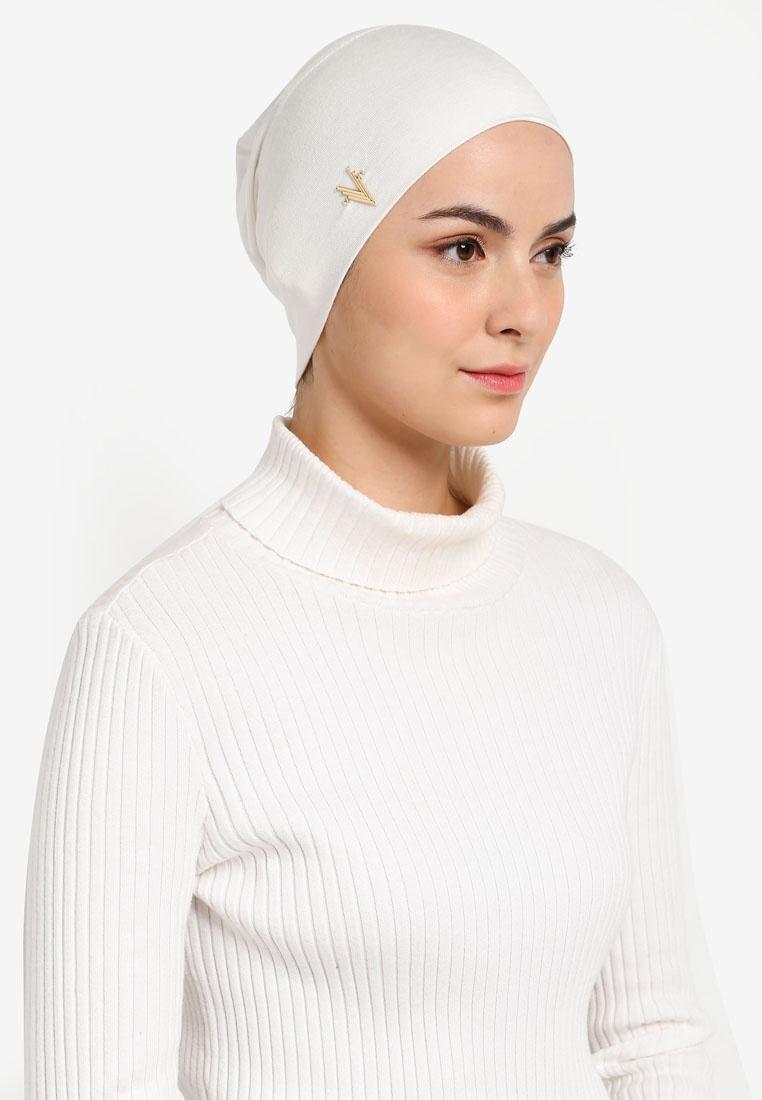 Premium Lyna Inner Snowcap Cotton Lycra Lycra, Modest