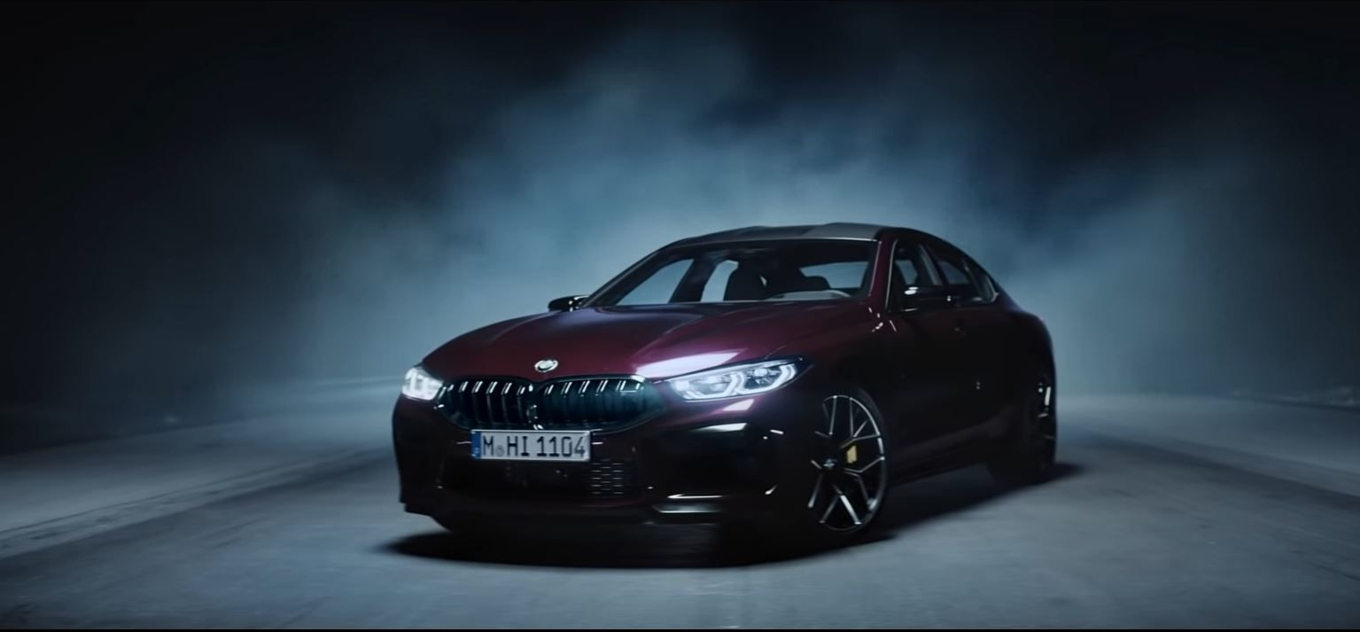 Video Bmw M8 Gran Coupe Official Launch Film Bmw Coupe Good