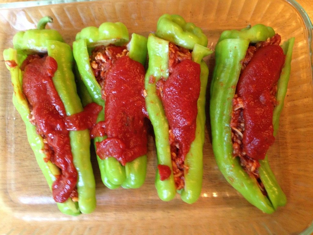 Sausage Stuffed Cubanelle Peppers P S Bonjour Stuffed Peppers Stuffed Cubanelle Pepper Recipe Cubanelle Pepper