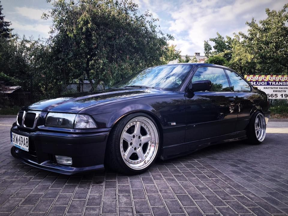 madeira violet bmw e36 coupe on cult classic ronal ac. Black Bedroom Furniture Sets. Home Design Ideas