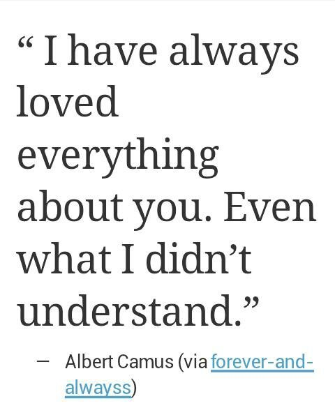 I Know I Seem Like I Don't Always Understand The Things