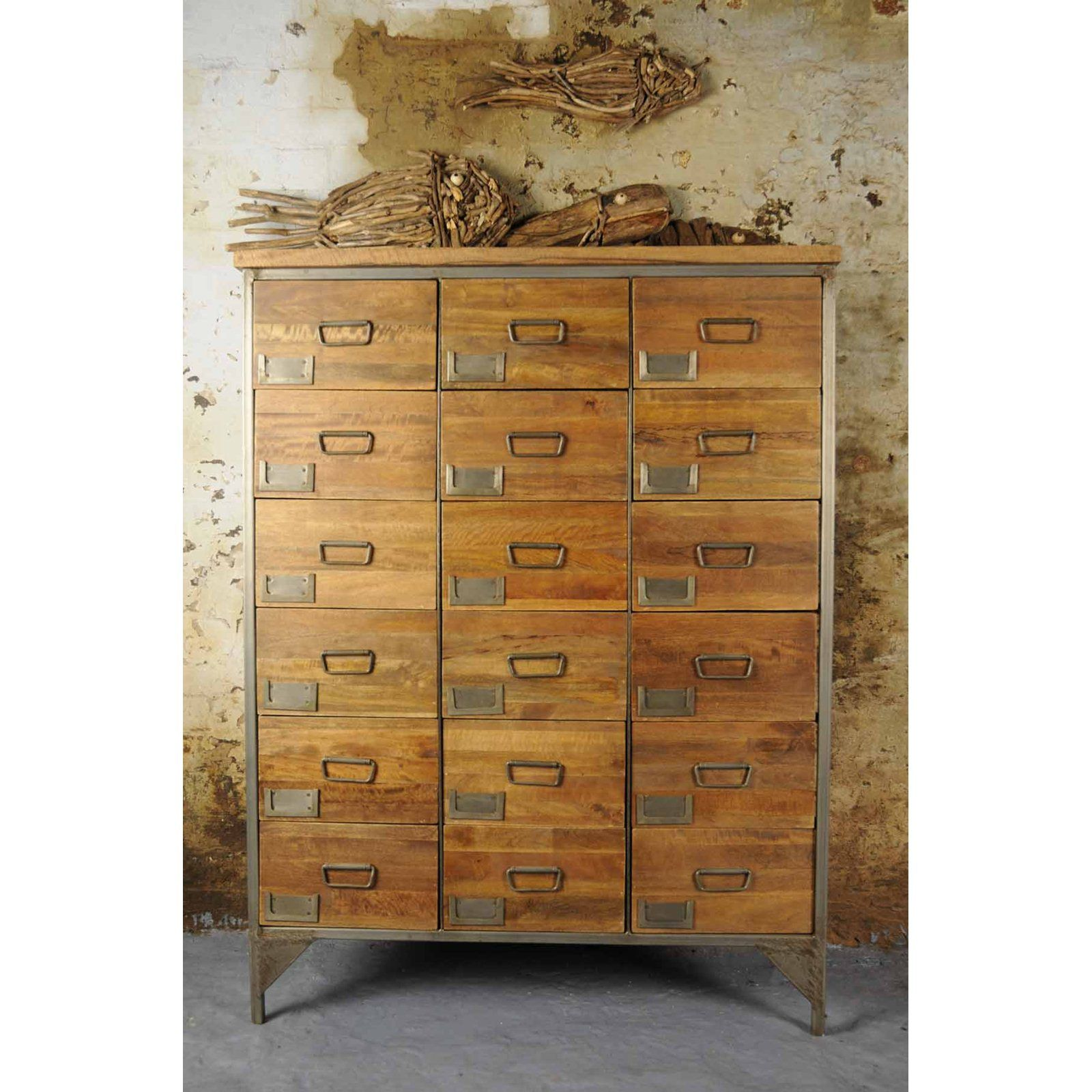 HICKS and HICKS Industrial Apothecary Chest Hicks u Hicks be