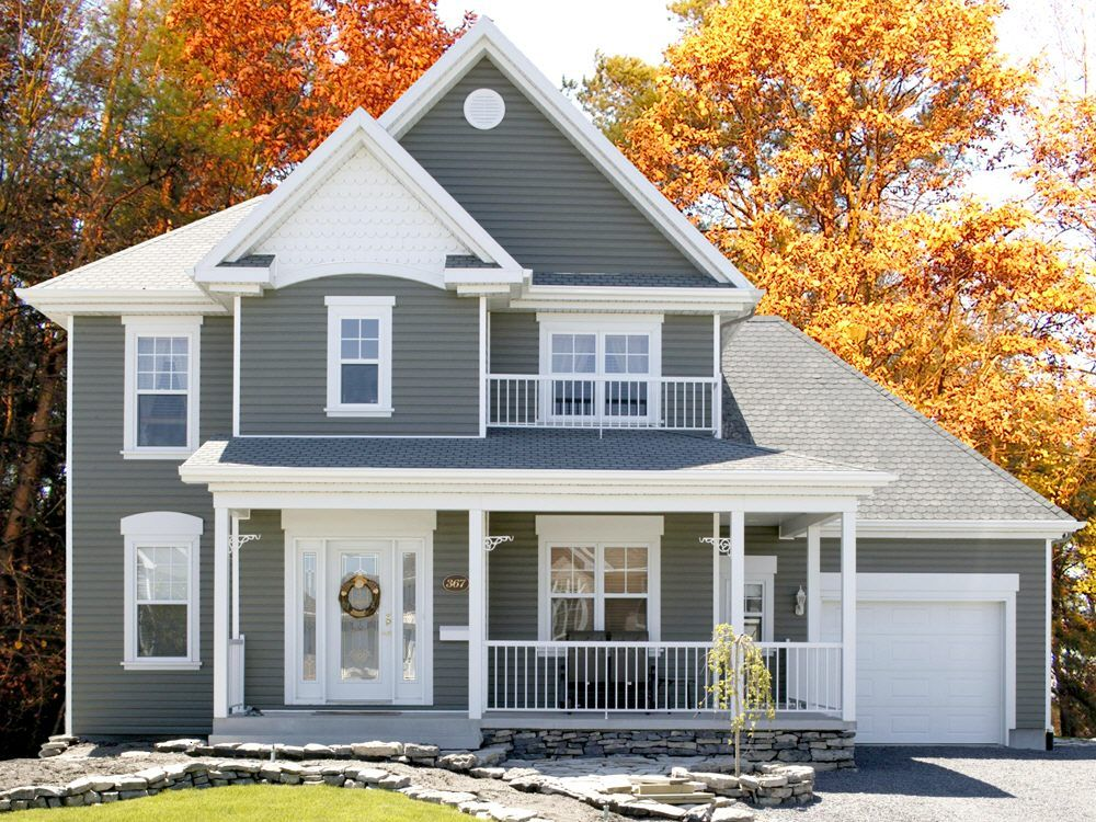 Whole House In Mitten Aviator Green Green House Exterior Green Siding Exterior House Colors