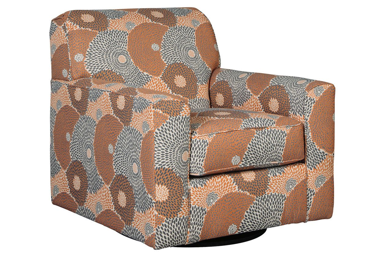 Benissa Accent Chair Swivel Accent Chair Signature Design By