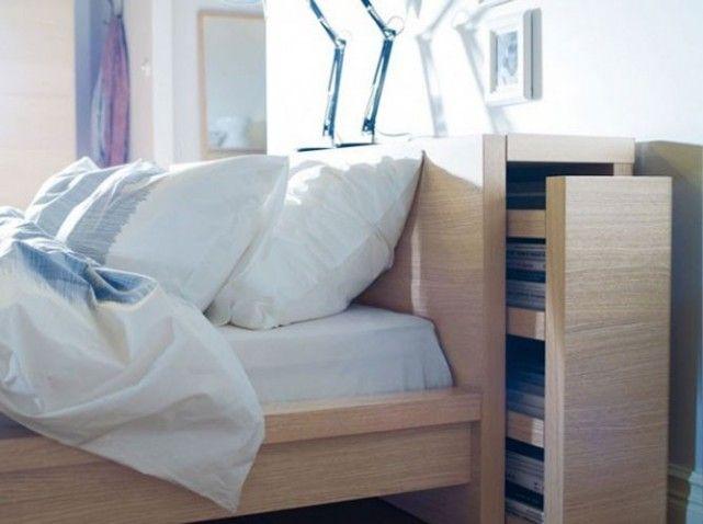 Studio nos 30 id es de rangements bien pens s t te de - Ikea lit avec tiroir de rangement ...