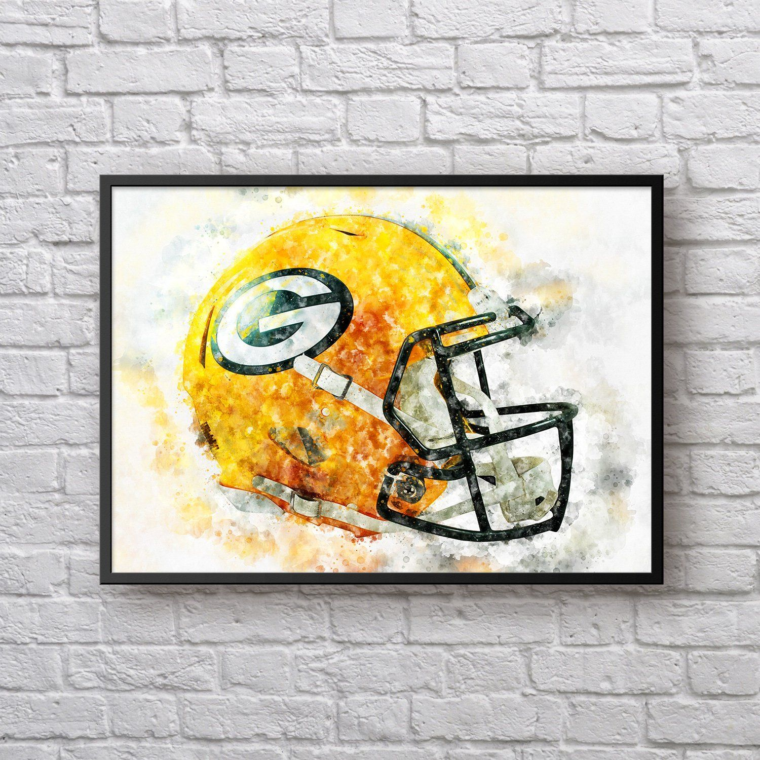 This Item Is Unavailable Etsy Green Bay Packers Helmet Green Bay Packers Art Painting